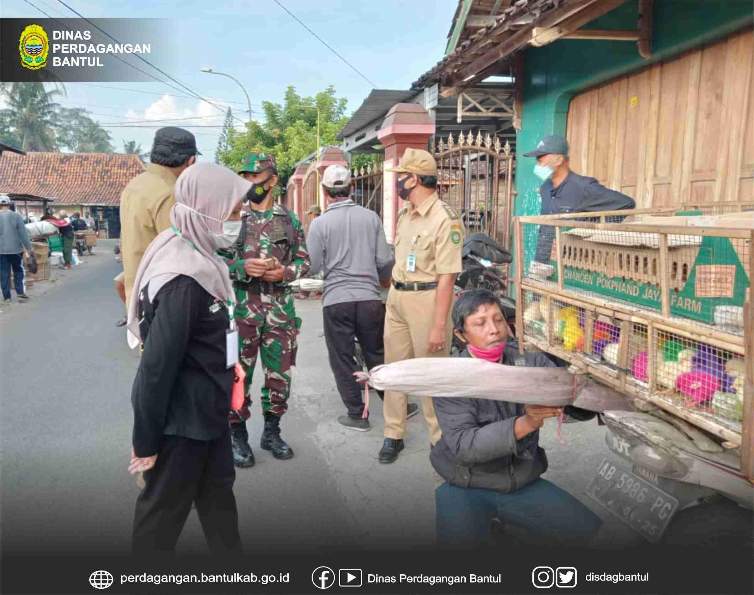 Pemindahan Dan Penataan Pedagang  Unggas Dan Burung di Pasar Turi