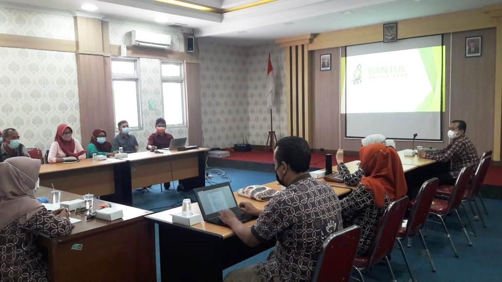 Bantul Online Shop (BOS) Untuk Membantu Pedagang Pasar dan Pelaku IKM di Kabupaten Bantul