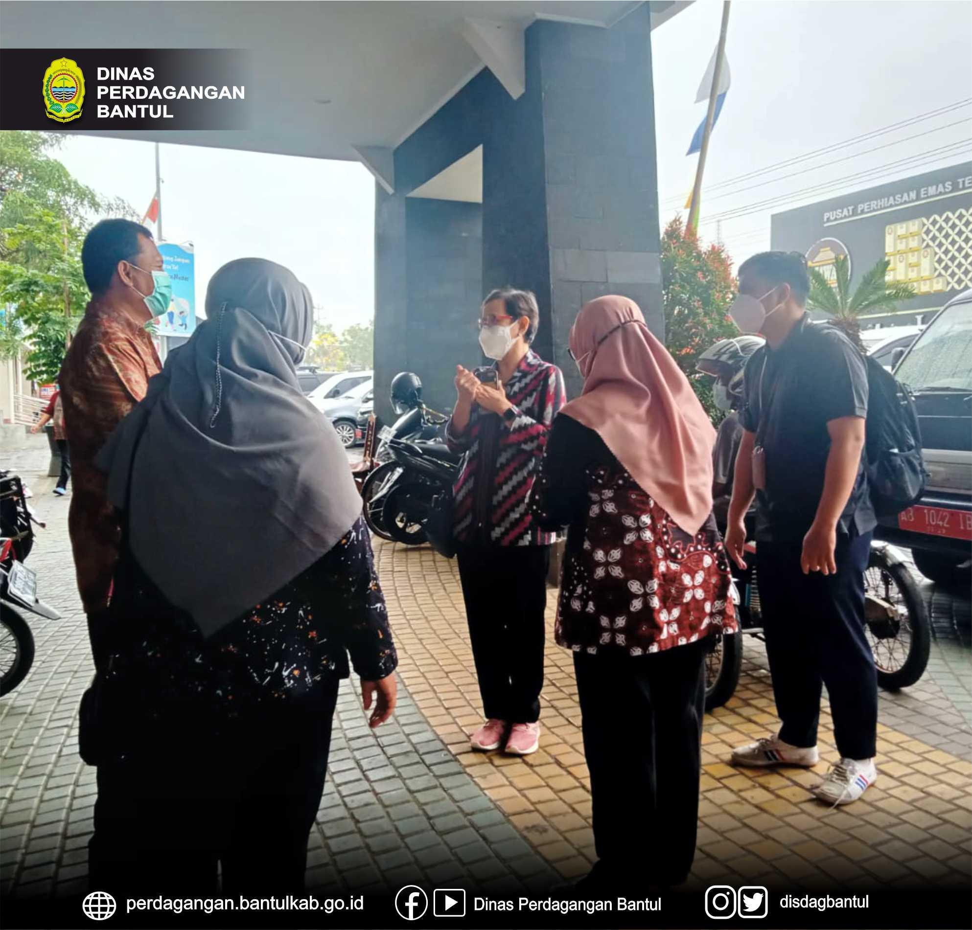 Dirjen Kesmas Kementerian Kesehatan RI mengunjungi Pasar Bantul